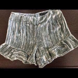 Kendall & Kylie Crushed Velvet Shorts